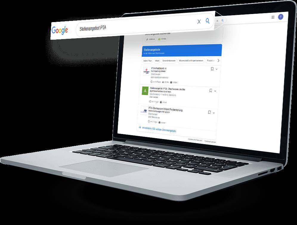 Stellenangebote bei Google